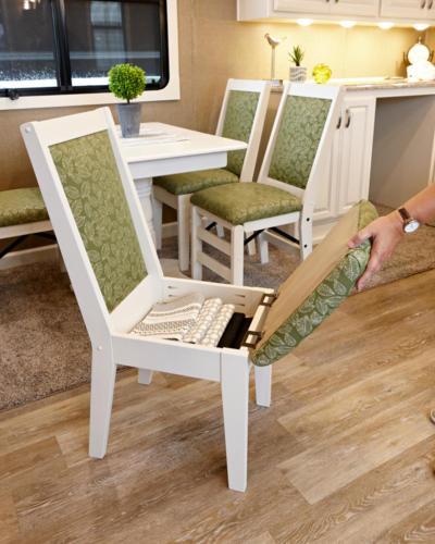 Majestic chair storage